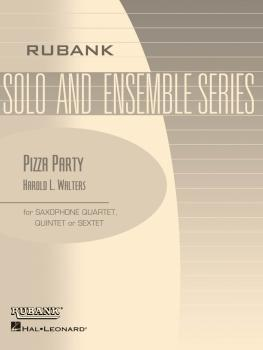 Pizza Party: Flexible Saxophone Ensemble - Grade 3 (HL-04479584)