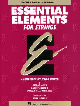 Essential Elements for Strings - Book 1 (Original Series) (Teacher Man (HL-04619000)