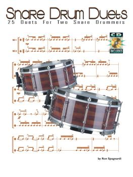 Snare Drum Duets: 25 Duets for Two Snare Drummers (HL-06620072)