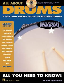 All About Drums: A Fun and Simple Guide to Playing Drums (HL-06620098)