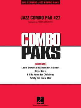 Jazz Combo Pak #27 (Christmas) (with audio download) (HL-07010080)