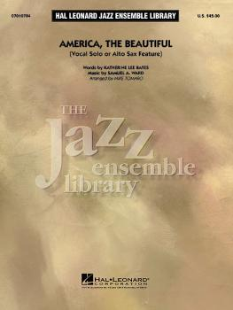 America, the Beautiful (Vocal or Alto Sax Solo) (HL-07010784)