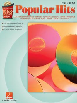 Popular Hits - Tenor Sax: Big Band Play-Along Volume 2 (HL-07011322)