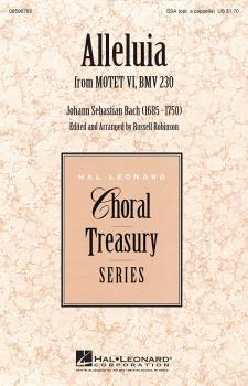 Alleluia (from Motet VI, BWV 230) (HL-08596782)