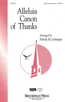 Alleluia Canon of Thanks (HL-08747335)
