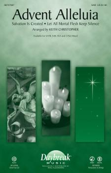 Advent Alleluia (with Salvation Is Created and Let All Mortal Flesh Ke (HL-08747997)