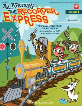 All Aboard The Recorder Express - With Reproducible Pages: Seasonal Co (HL-09970947)