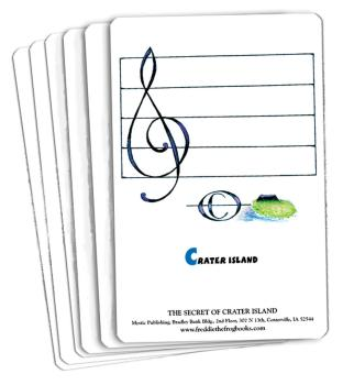 Freddie the Frog and the Secret of Crater Island (Flash Card Set) (HL-09971506)