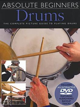 Absolute Beginners - Drums (Book/DVD Pack) (HL-14000994)