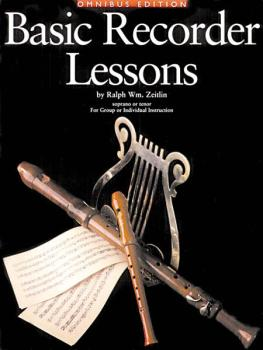 Basic Recorder Lessons - Omnibus Edition (for Group or Individual Inst (HL-14003554)