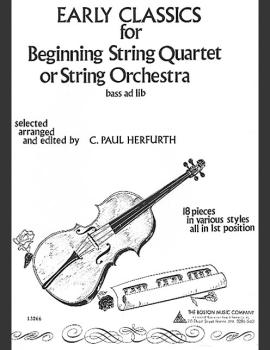 Early Classics for Beginning String Quartet or String Orchestra (HL-14009787)