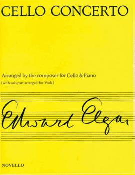 Concerto for Cello Op. 85 (Arranged for Viola & Piano) (HL-14010097)