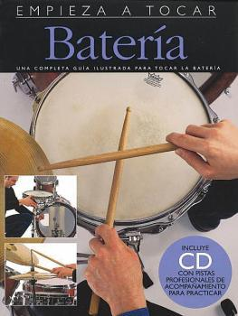 Empieza A Tocar Bateria: Spanish Edition of Absolute Beginners - Drums (HL-14010298)