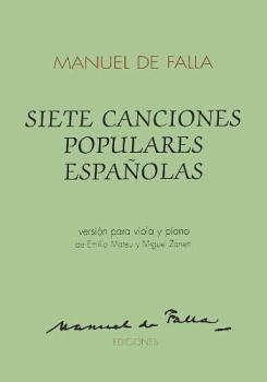 7 Canciones Populares Espanolas (for Viola and Piano) (HL-14010877)