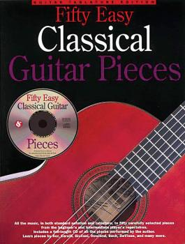 50 Easy Classical Guitar Pieces (HL-14011329)