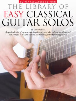 Library of Easy Classical Guitar Solos (HL-14019029)