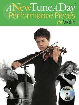 A New Tune a Day - Performance Pieces for Violin (HL-14022761)