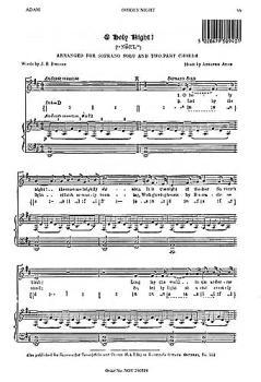 Adolphe Adam: O Holy Night (Soprano Solo) (HL-14023707)