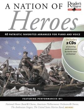 A Nation of Heroes: Reader's Digest Piano Library Book/2-CD Pack (HL-14026961)