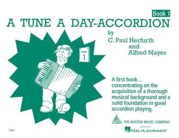 A Tune a Day - Accordion (Book 1) (HL-14034197)