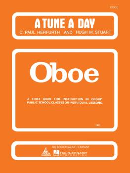 A Tune a Day - Oboe (Book 1) (HL-14034217)