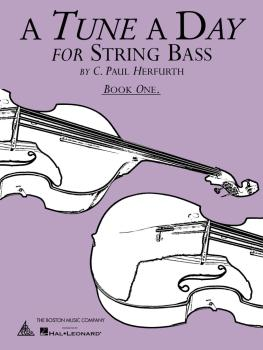 A Tune a Day - String Bass (Book 1) (HL-14034225)