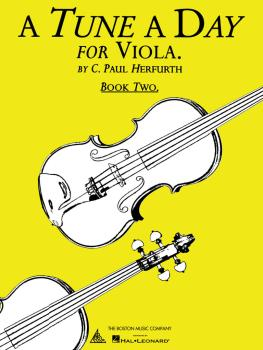 A Tune a Day - Viola (Book 2) (HL-14034233)