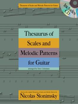 Thesaurus of Scales and Melodic Patterns for Guitar (HL-14037720)