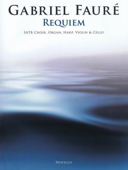 Requiem: SATB Choir, Organ, Harp, Violin, and Cello Full Score and Set (HL-14041748)