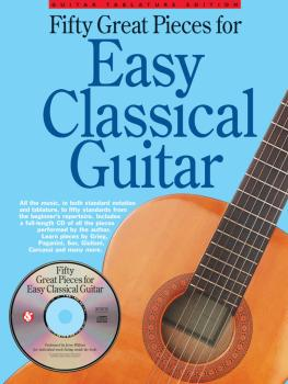 Fifty Great Pieces for Easy Classical Guitar (HL-14042428)