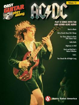 AC/DC: Easy Guitar Play-Along Volume 13 (HL-14042895)