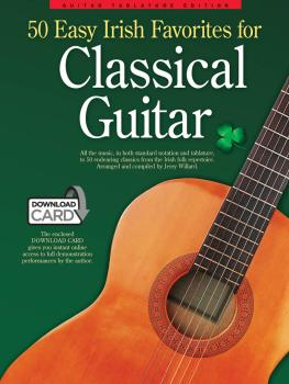 50 Easy Irish Favorites for Classical Guitar: Guitar Tablature Edition (HL-14043322)