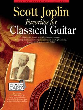 Scott Joplin Favorites for Classical Guitar (HL-14043687)