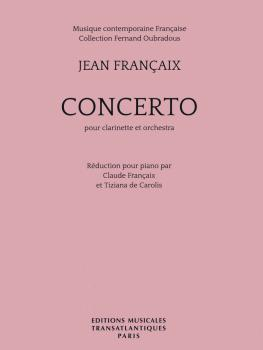 Concerto: Clarinet and Piano Reduction (HL-14050037)