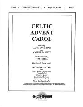 Celtic Advent Carol (Orchestration) (HL-35003136)