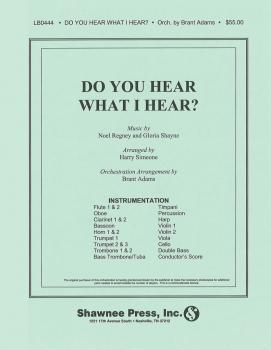 Do You Hear What I Hear? (Orchestration) (HL-35005471)