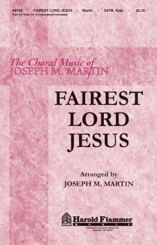 Fairest Lord Jesus (HL-35006265)