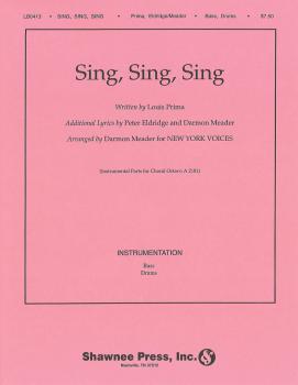 Sing, Sing, Sing: New York Voices Series (HL-35020346)
