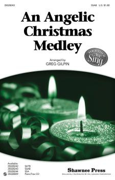 An Angelic Christmas Medley: Together We Sing Series (HL-35028243)