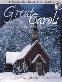 Great Carols: Bb Clarinet/Bb Bass Clarinet/Bb Tenor Saxophone - Grade  (HL-44004678)