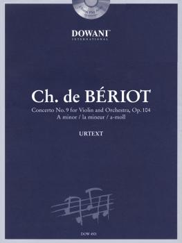 Bériot: Concerto No. 9 for Violin and Orchestra, Op. 104 in A Minor (HL-44006466)