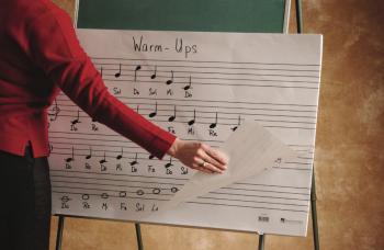 Oversized Music Flip Chart Book (HL-44206026)