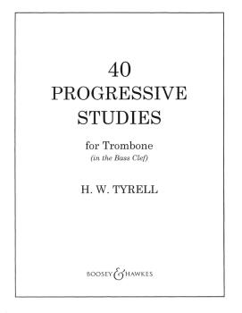 40 Progressive Studies (for Trombone in the Bass Clef) (HL-48001055)