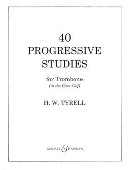 40 Progressive Studies (for Trombone in the Bass Clef) (HL-48001055)