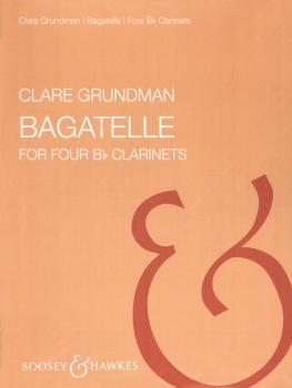 Bagatelles (for Four Clarinets) (HL-48001338)