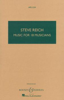 Music for 18 Musicians (Study Score) (HL-48002285)