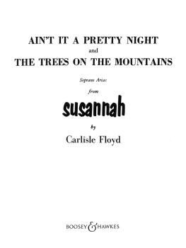 Ain't It a Pretty Night and The Trees on the Mountains: Soprano Arias  (HL-48005605)