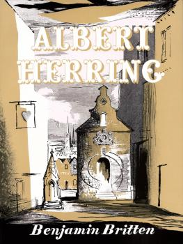Albert Herring, Op. 39: Comic Opera in Three Acts (HL-48008871)