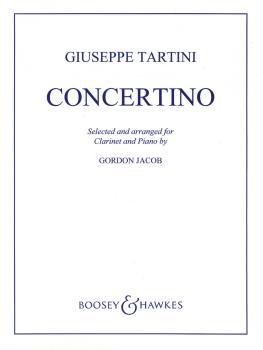 Concertino in F (for Clarinet and Piano) (HL-48009595)