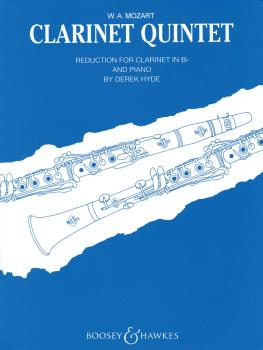 Clarinet Quintet in A, K.581: Reduction for Clarinet and Piano (HL-48010183)